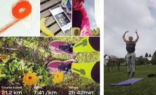Face au coronavirus, les marathoniens doivent courir dans leur jardin ou faire de l'entretien musculaire.