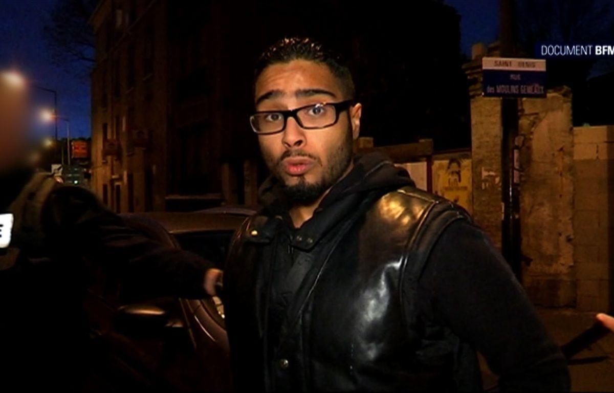 Jawad Bendaoud, l'homme qui a logé les terroristes dans un appartement de Saint-Denis – BFMTV / AFP