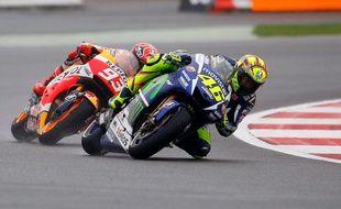 Marc Marquez et Valentino Rossi ne s'adressent plus la parole depuis 2015.