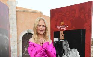L'actrice Nicole Kidman au Festival de Taormina