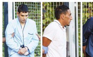 Les quatre suspects arrêtés dans le cadre de l'enquête sur les attentats en Catalogne ont été présentés aux juges ce mardi 22 août 2017, au tribunal de Madrid.