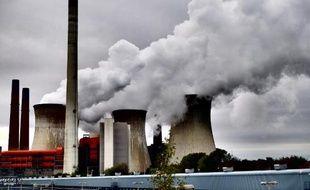 Une usine à charbon à Rommerskirchen dans l'ouest de l'Allemagne le 24 octobre 2014