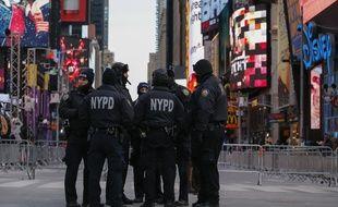 Des policiers new-yorkais