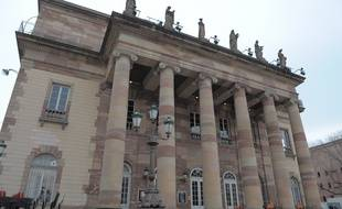 L'Opéra national du Rhin de Strasbourg renforce son dispositif de sécurité suite aux attaques terroristes de Paris. (Illustration)