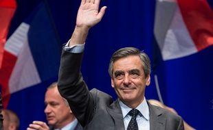 François Fillon semble désormais heureux des sondages plus favorables.