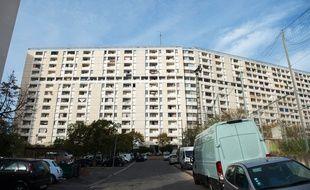 La cité des Lauriers, dans le 13e arrondissement de Marseille.
