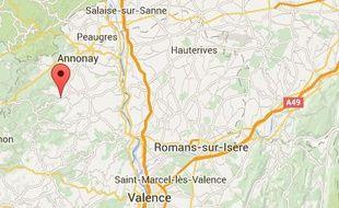 La commune de Satillieu, en Ardèche.