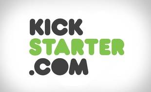 Le logo du site Kickstarter.