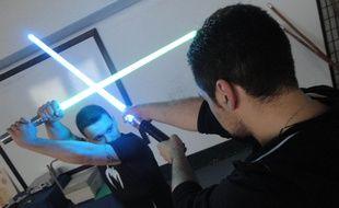 Matthieu participera aux championnats de France de sabre laser à Paris.