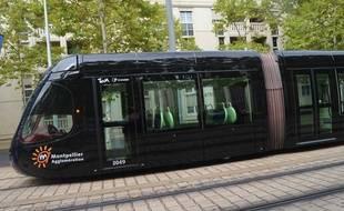 Un tramway à Montpellier (illustration).
