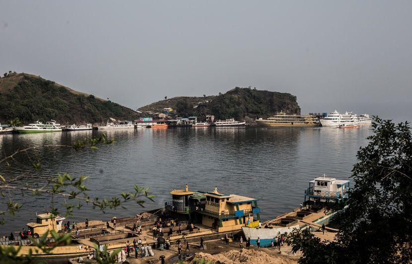 RDC : 36 personnes disparues dans un naufrage sur le fleuve Congo