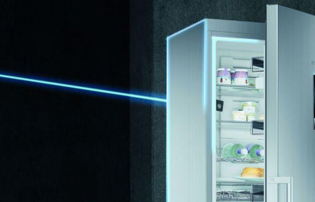 Chez Siemens, une application permet de recueillir des informations depuis son réfrigérateur.