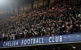 Les supporters de Bradford à Stamford Bridge, le 24 janvier 2015.