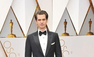L'acteur Andrew Garfield aux 89ème Academy Awards.