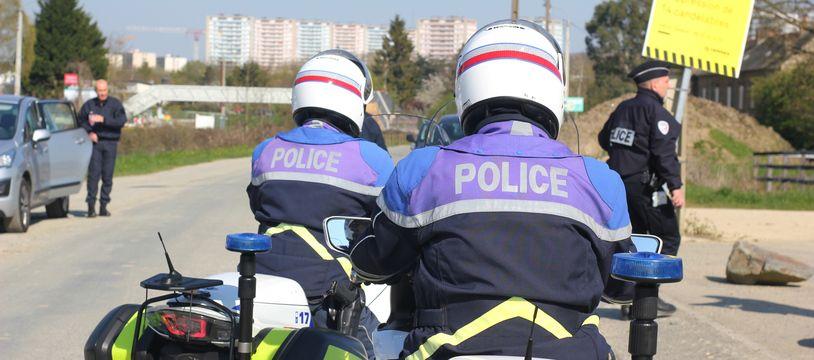La police de Rennes a mobilisé d'importants moyens pour retrouver un enfant disparu le 5 juin 2021 aux prairies Saint-Martin.