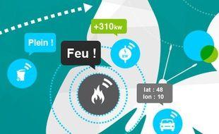 La start-up toulousaine Sigfox fait partie des pionniers dans l'Internet des objets en France.