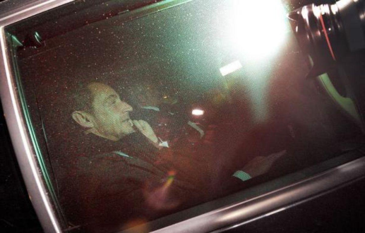 """Nicolas Sarkozy est """"favorable à toute initiative qui peut permettre de régler la situation"""" à l'UMP, a indiqué dimanche à l'AFP l'entourage de l'ancien président. – Pierre Andrieu afp.com"""