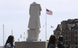 A Boston, la statue de Christophe Colomb a été décapitée