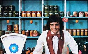 "Gérard Rinaldi dans le film ""Le Grand Bazar"" de Claude Zidi (1973)."