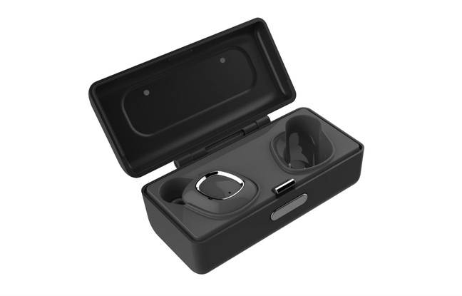 Les écouteurs TW1 de la marque SuperTooth.
