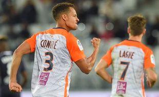 Daniel Congré a inscrit le deuxième but montpelliérain à Bordeaux.