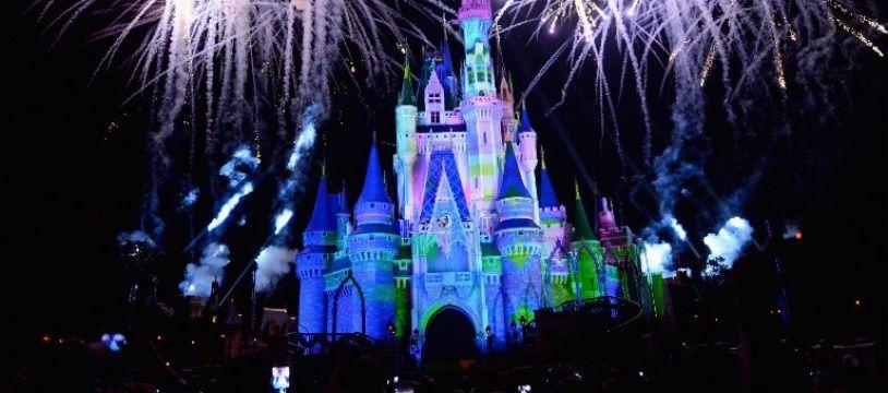 Le château de Disneyworld en Floride