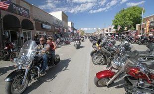 Des milliers de motards se rassemblent chaque année à Sturgis, en Dakota du Sud.