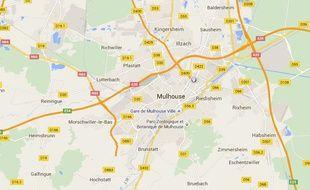 Son bébé retrouvé dans les poubelles de son immeuble du quartier Drouot à Mulhouse.