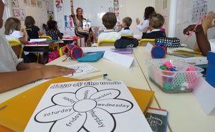 A l'international school of Nantes