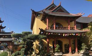 La pagode Van Hanh, à Saint-Herblain près de Nantes