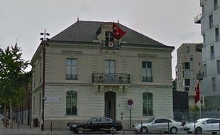 Le consulat de Turquie à Nantes
