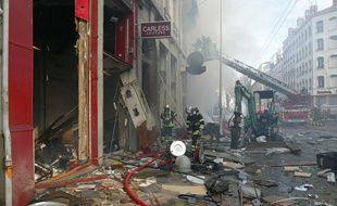 Le  28 février 2008, lors de l'explosion du cours Lafayette à Lyon.