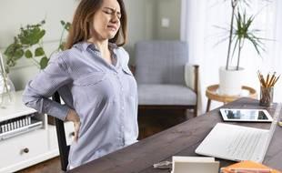 Bougez toutes les deux heures pour éviter d'avoir mal au dos en télétravail.