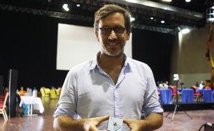 Julien Selz est le président de la start-up Design Your Cube qui organise ce championnat du monde.