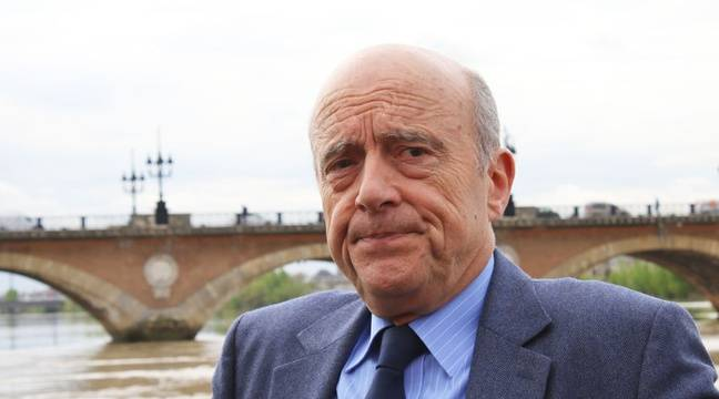 Alain Juppé devant le pont de Pierre à Bordeaux, le 31 mars 2017 – M.Bosredon/20Minutes