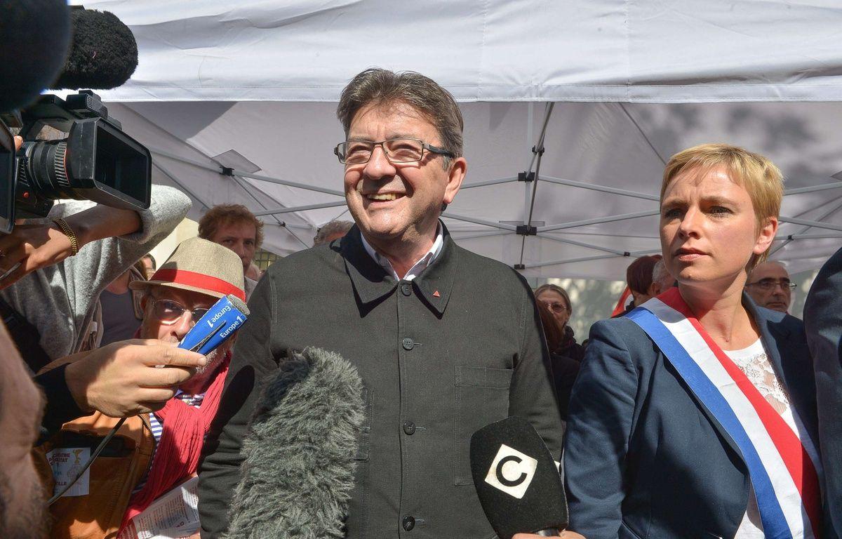 Jean-Luc Mélenchon lors de la manifestation du 21 septembre 2017 à Paris.  –  ISA HARSIN/SIPA