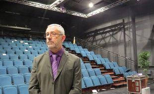 André Falba, le secrétaire général démissionnaire du syndicat  FO des agents municipaux