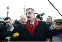 Le député MoDem Jean Lassalle après son tour de France en décembre 2013.