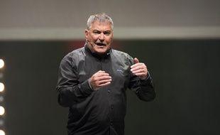 Jean-Marie Bigard lors d'une représentation en 2018.
