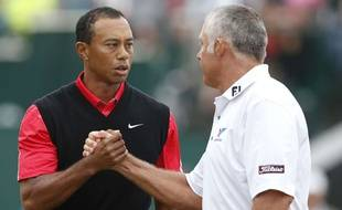 Tiger Woods et Steve Williams quand ils s'entendaient bien.