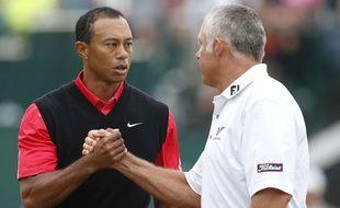 Tiger Woods et Steve Williams quand ils s'entendaient bien.