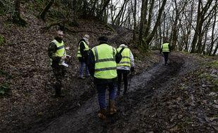 D'intenses recherches avaient été menées dans le secteur de Montfort-sur-Meu pour retrouver la trace de Magali Blandin. Son corps sans vie a été découvert le 20 mars 2021, plus d'un mois après sa disparition.