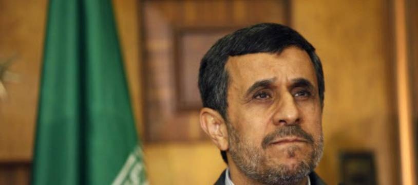 L'ex-président ultraconservateur iranien Mahmoud Ahmadinejad.