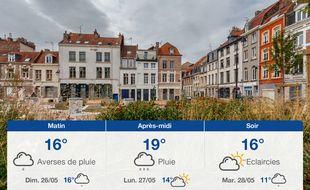 Météo Lille: Prévisions du samedi 25 mai 2019