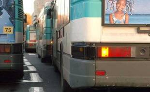 Illustration bus RATP.
