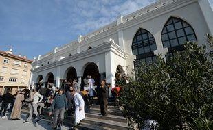 Mosquée de Fréjus, le 22 janvier 2016