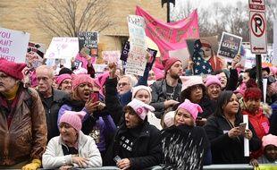 Manifestation anti-Trump à Washington le 21 janvier 2017.