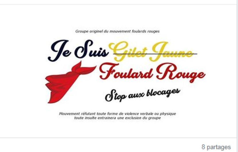 la meilleure attitude détaillant en ligne profiter du prix le plus bas Gilets jaunes » : Des « foulards rouges » défilent à Paris ...