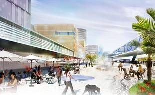 Nice-Ouest deviendra un pôle d'échange multimodal.