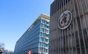 Le siège de l'OMS, à Genève, en Suisse.